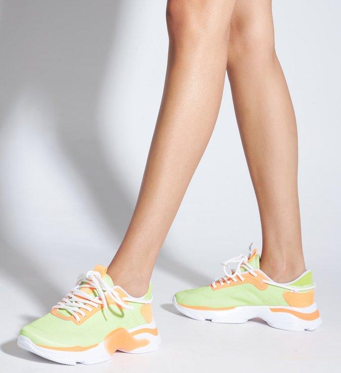 Tênis Rush Neon Amarelo