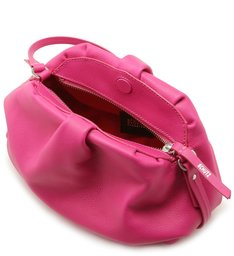 CLUTCH AVRIL LEATHER PINK