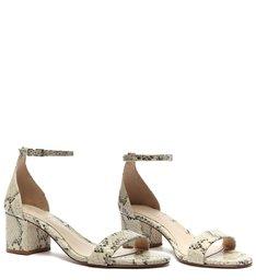Sandália Minimal Block Heel Natural