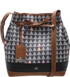 Bucket Bag Emili Triangle Black