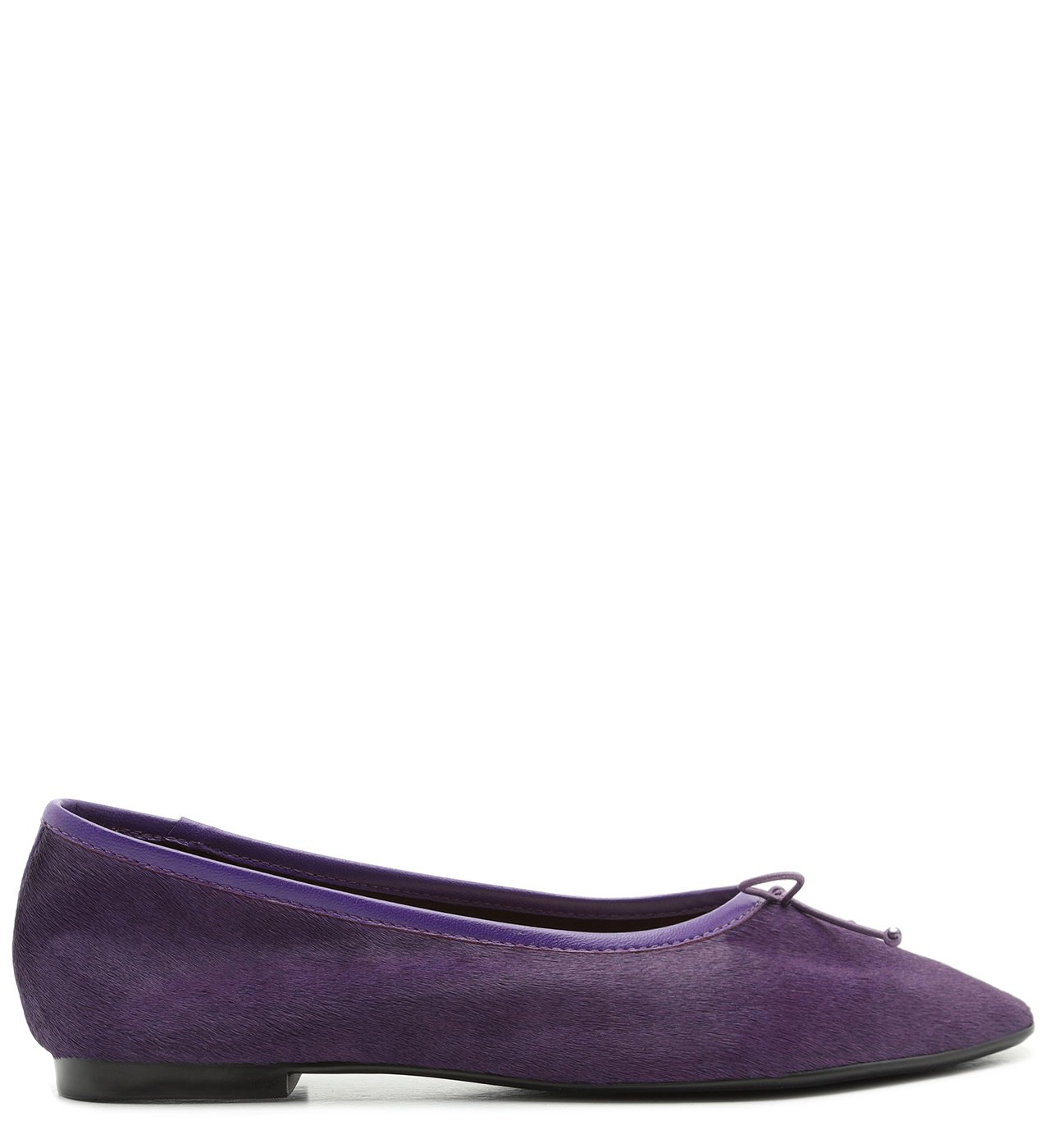 Sapatilha Ballerina Veludo Purple | Schutz