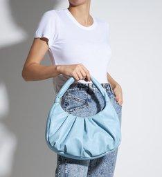 Schutz X Ginger Moon Bag Blue