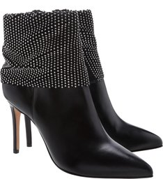 Bota Salto Rock Glam Black