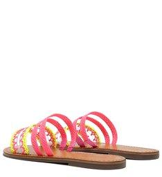 Flat Slide Multistrap Fresh Pink