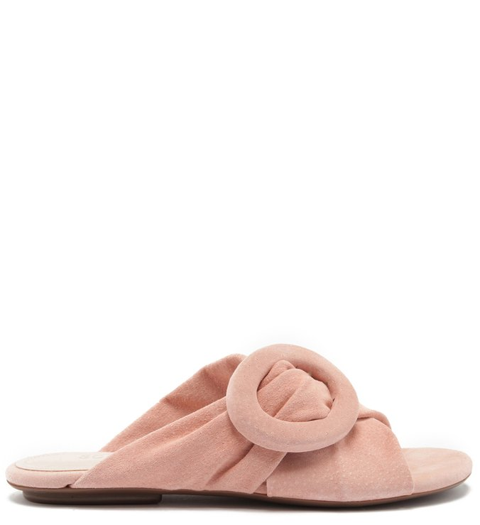 Flat Slide Buckle Sweet Rose | Schutz