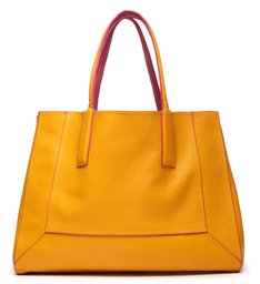 Shopping Bag Double Face Pink/Yellow