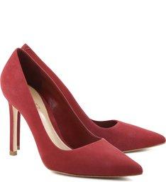 Scarpin Stiletto Red Wine