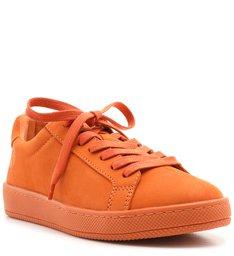 Tênis Low Camurça Orange
