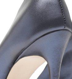 Scarpin Cracked Metallic Blue Teal