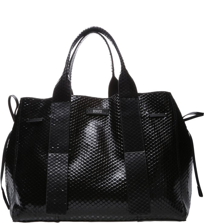 Shopping Maxxi Bag Bright Snake Black | Schutz