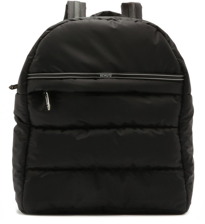 Mochila Nylon Fluffy Black | Schutz