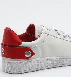 Tênis New Ultralight White & Red