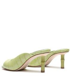 Sandália Mule Ella Bambu Verde