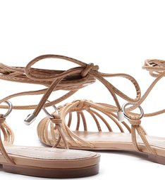 Flat Strings Lace-Up Honey