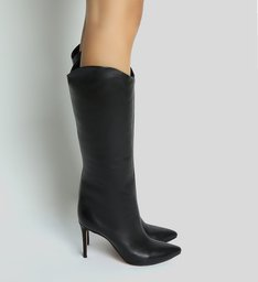 Long Boot Salto Classic Black
