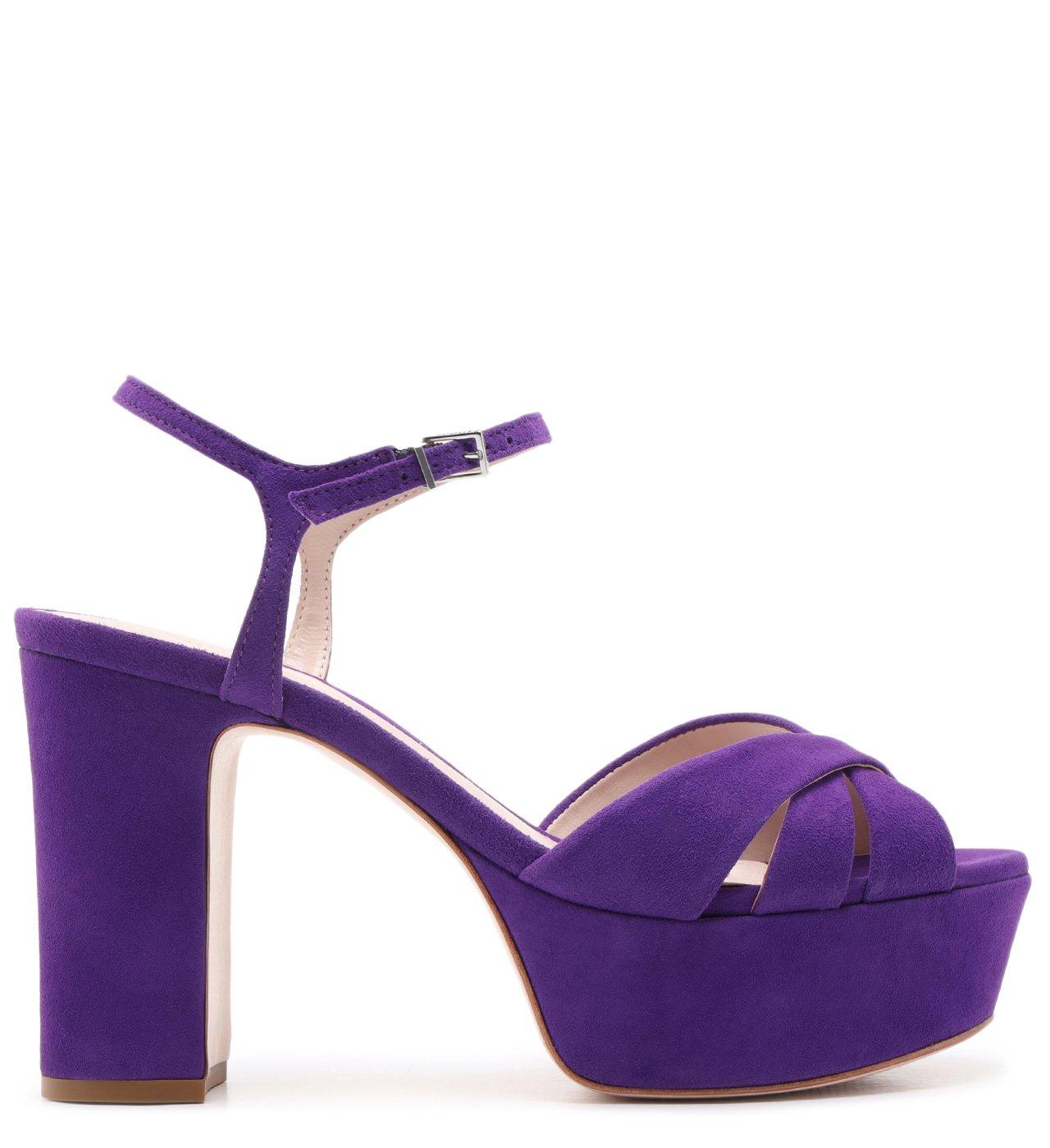 Sandália Carrie Meia Pata Purple | Schutz