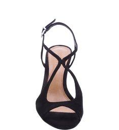 Sandália Cuves Medium Heel Black