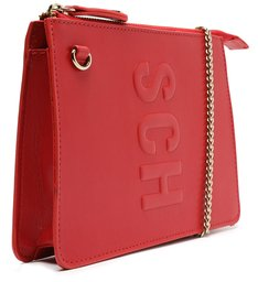 Bolsa Tiracolo Pequena Tassy Vermelha