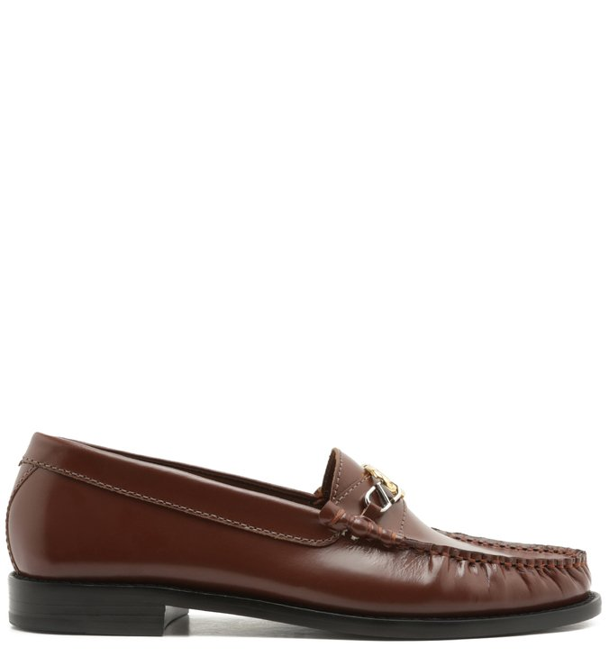 Mocassim Leather Verniz Brown | Schutz