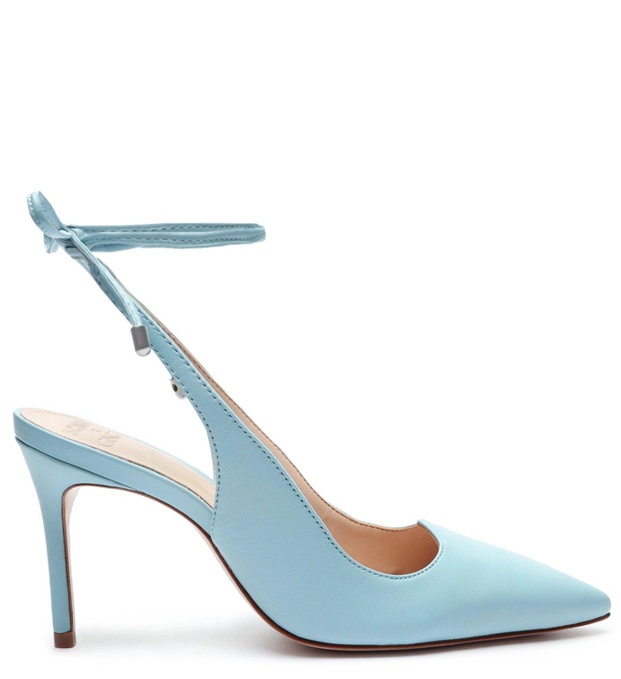 Schutz X Ginger Scarpin Lace-Up Blue | Schutz