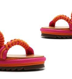 Sporty Sandals Fun Tangerine