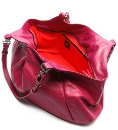 Bolsa Shopping Grande Lauren Couro Pink