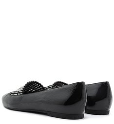 Loafer Crystal Glam Verniz Black