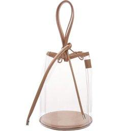 Bucket Bag Vinil Crystal Neutral