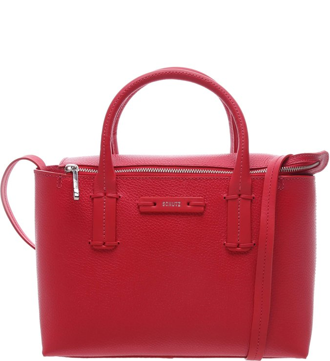 Handbag Classic Neutral Red