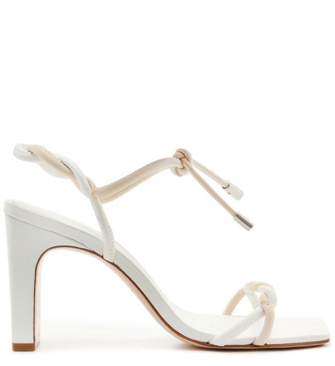 Sandália New Minimal Twist White
