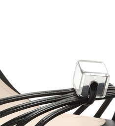Sandália Cube Lace-Up Black