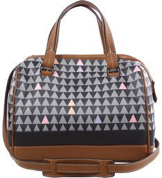 Handbag Triangle Shutz Black