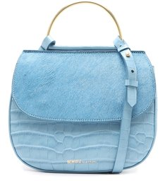 Crossbody Lee Croco Soft Blue