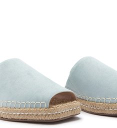 FLAT OPEN ESPADRILLE SWEET BLUE