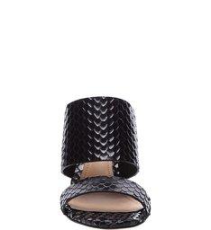 Sandália Mule Snake Black