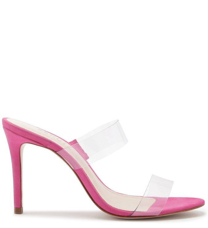Mule Salto Nobuck Vinil Pink | Schutz