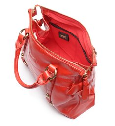 Tote Amber Red