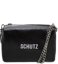 Crossbody Double Side Nylon Black
