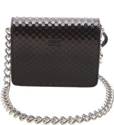 Baby Crossbody Snake Black