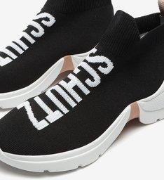 Sock Sneaker Bold Black