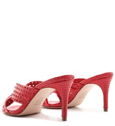 Sandália Mule Knot Textures Red