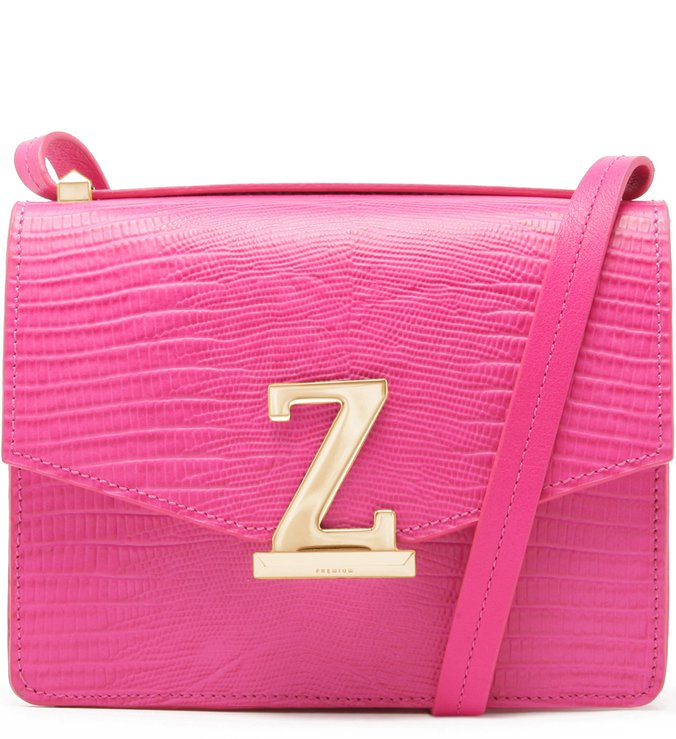Crossbody Square Letters Pink | Schutz