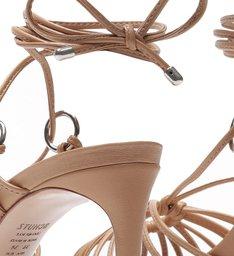 Sandália Lace-Up Strings Honey