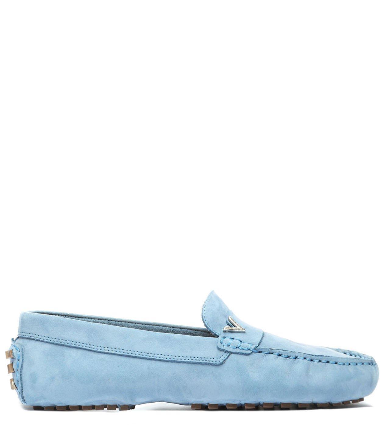 Sapato Mocassim Nobuck Triangle Jeans | Schutz