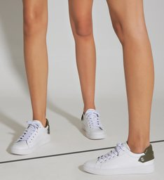 Tênis New Ultralight White & Green