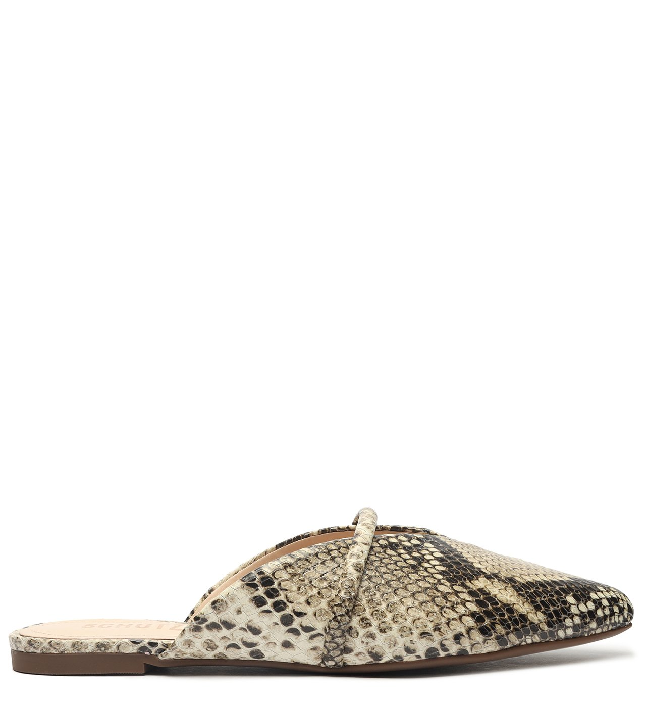 Flat Mule Croco Multineutral | Schutz