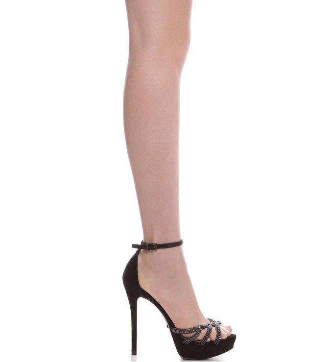 Sandália Glam Stiletto Black