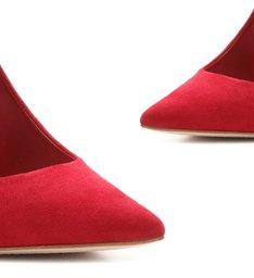 Sapato Scarpin Clássico Vermelho