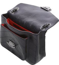 Mini Shoulder Bag  Rosie Chain Black