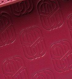 Bolsa Tiracolo Pequena 4GIRLS Emblem Couro Pink